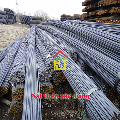 Quotation of construction iron and steel - Sang Chinh Company